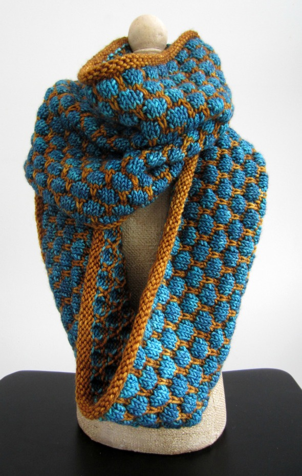 ... is Jill's Colonnade by Stephen West, a free pattern from Knitty.com