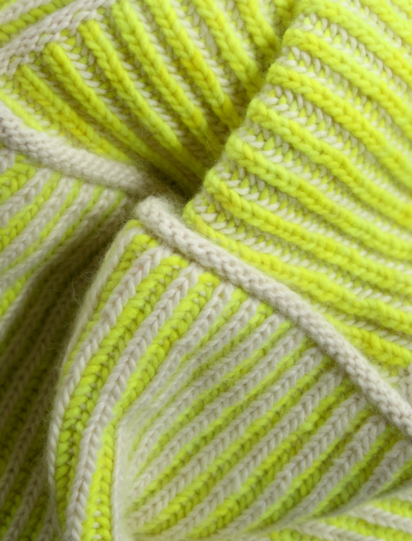 Brioche Knitting Tutorial : Winter classes goshyarnitshop