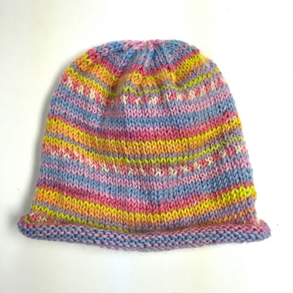 There s more Knitcol color magic in Jill s Tensfield  hat. The pattern is  from Martina Behm. 415af409d05