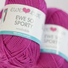Ewe+So+Sporty+merino+yarn